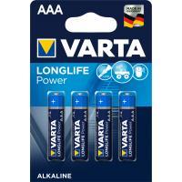 Batterien Varta Longlife Power Micro AAA Blister/4