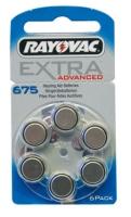 Hörgeräte Batterien Rayovac H 675MF Blister/6