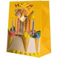 Geschenktasche Happy Birthday medium Set/20